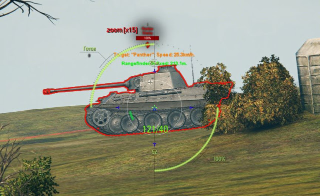 wot sight hits mod