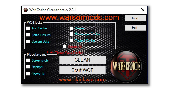 wot mod cleaner