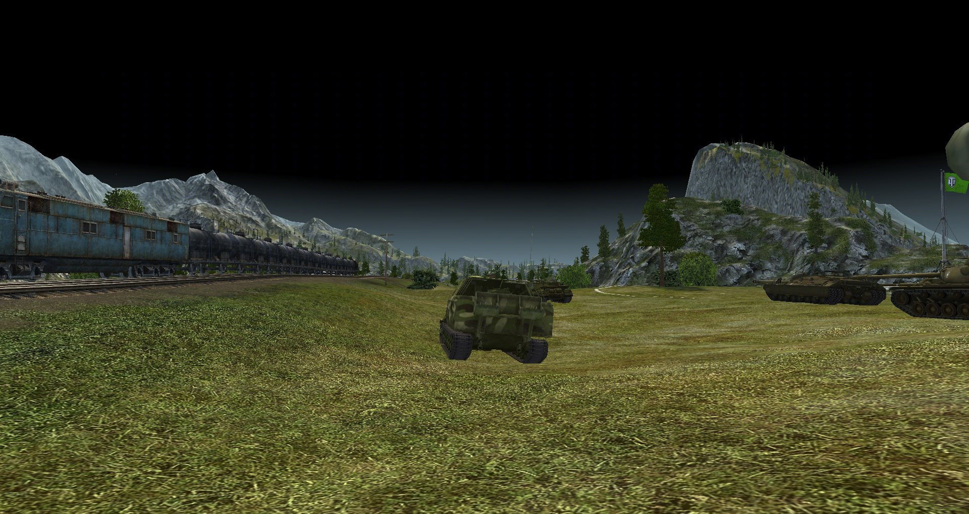 world of tanks mod for fps