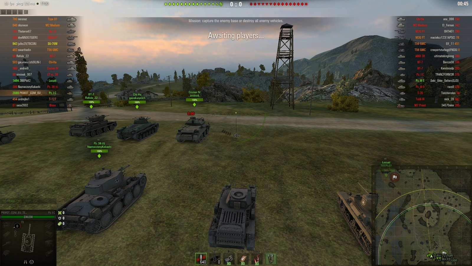 1 6 0 0 Battle Stats By PolarFox (player stats without XVM) – WoT by